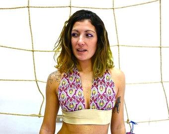 yoga bra yoga top bikini handmade