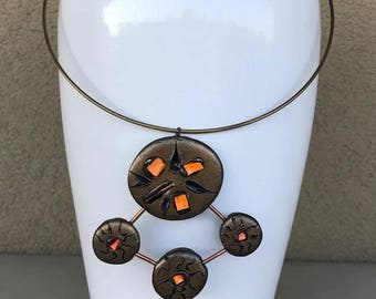 TAI Orange Necklace