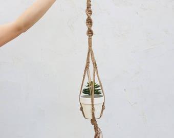 Jute Plant Hanger 37 Inch.