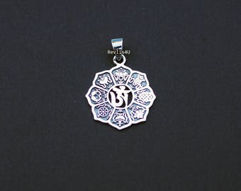 Lotus pendant etsy mozeypictures Image collections