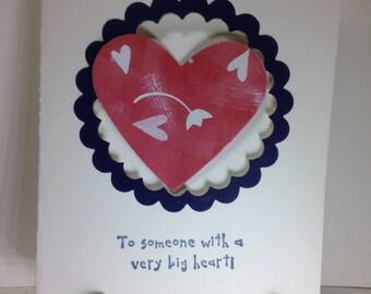 3 D Big Heart