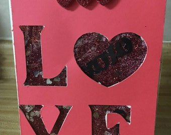 L is for Love/Valentine'sCard/cards for everyone