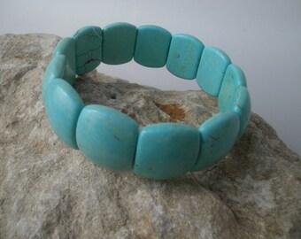 "magnesite bracelet ""Turquoise"" #013"