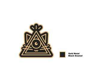 PREORDER Illumicat Enamel Pin