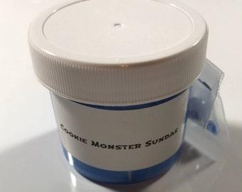 Cookie Monster Sundae Slime