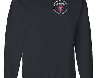 82nd Airborne Division Embroidered Cotton Sweatshirt-3516