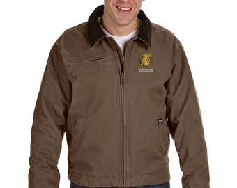 US Army Master Recruiter Embroidered Dri-Duck Outlaw Jacket-7755