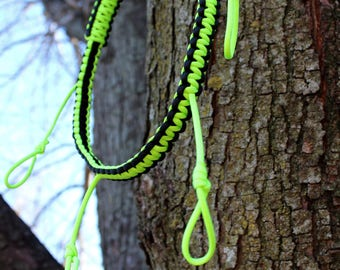 Youth Call Lanyard Lime/Black W/ Game Strap