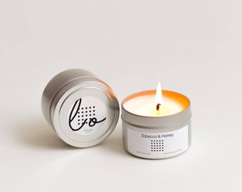 Tobacco & Honey Soy Candle