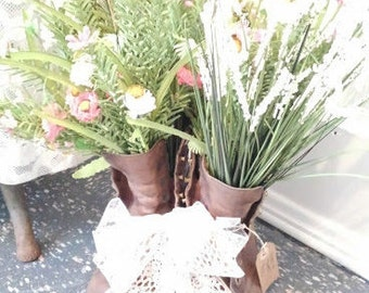 boots and blooms