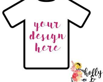ADULT Custom shirt order