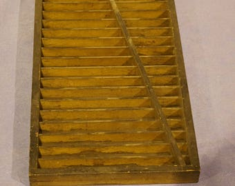 Old Printing typeset holder