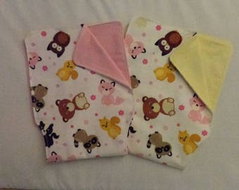 Burp Cloth Critter Babies