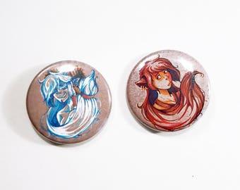 2 badges - Nwalca / Eilann