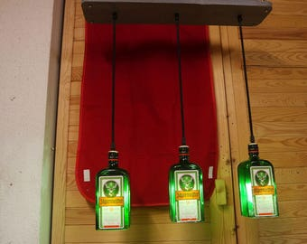 Hunter Master Ceiling lamp pendant lamp bottle upcycling
