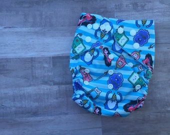 Adventure Time Pocket Cloth Diaper