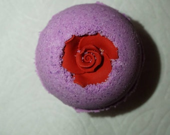 Lavender with a Rosie Bath Bomb
