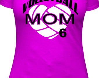 Volleyball Mom Shirt Custom PINK shirt Volleyball Mom Volleyball mom Shirt sports mom sport mom women shirt Custom