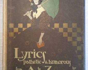 Edmund Dulac-Lyrics pathetic & humorous from A to Z - 1908