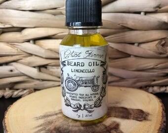 Limoncello Beard Oil