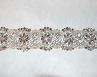 bridal belt, bridal sash, rhinestone bridal sash, wedding dress belt