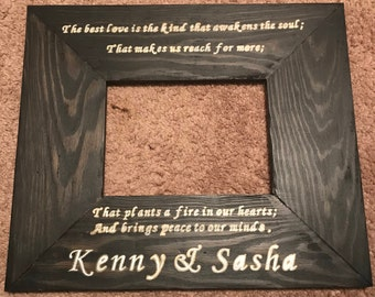 Custom quote frame