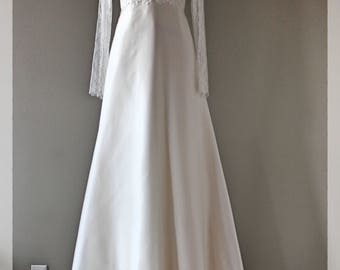 Wedding gown, gown, wedding dress, lace