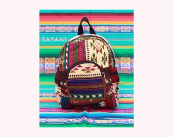 Colourful Wool Backpack Ecuador