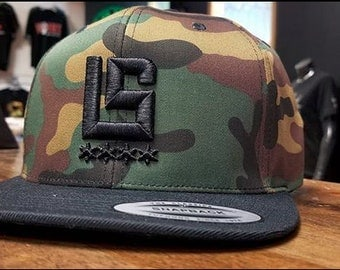 Lifestyle Chicago Camo Snapback with 3D Stitching