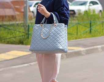 CHAMELINE Quilted Tote