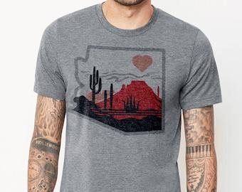 The Heart of the Desert: Adult's Crew Neck T-Shirt