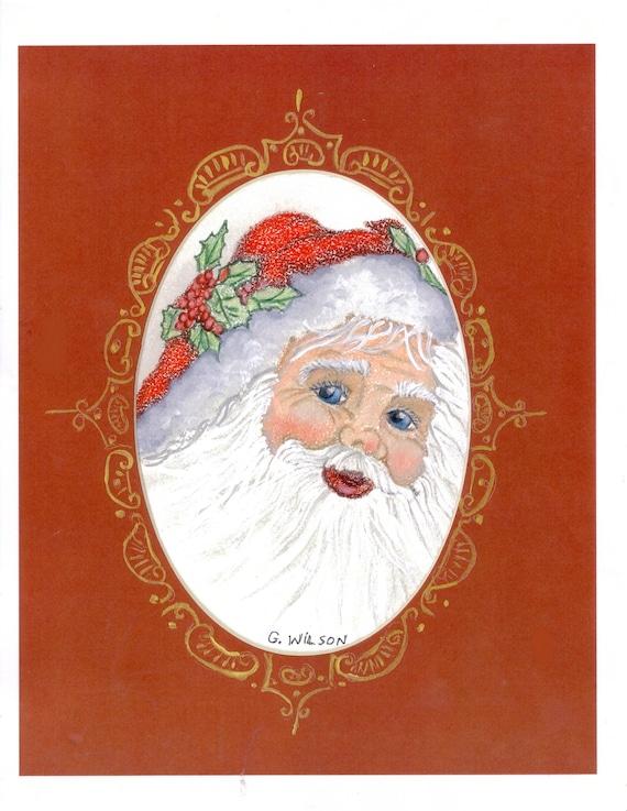 "Santa Claus ""ole blue eyes """
