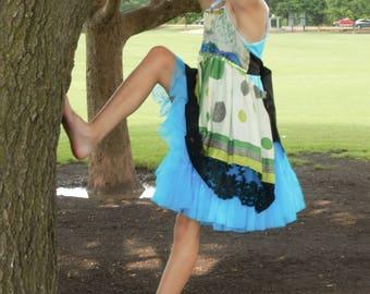 Rubypearl Girls' Aviary Dress