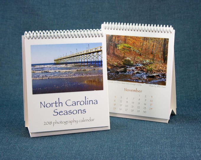 Featured listing image: NC Seasons 2018 Calendar