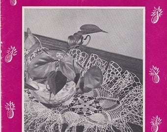 1948 Pineapple Pageant vintage crochet booklet