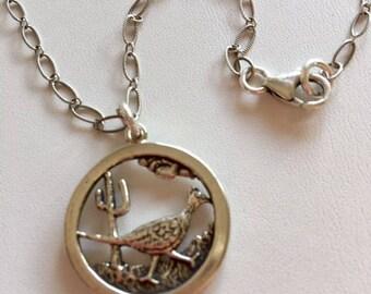 Southwest Pendant Necklace-Sterling Silver necklace