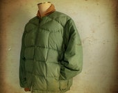 FINAL SALE --- Vintage 1970s-80s Gerry Goose Down Ski Puffer Jacket, Made in USA (L)