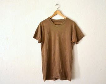 1980's Brown Faded T-Shirt