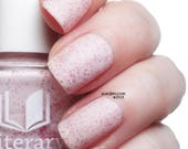 Princess Buttercup = Matte White with Pink Shimmer