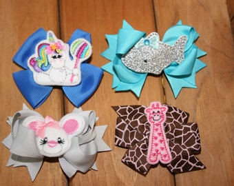 Embellished bows - Your Choice