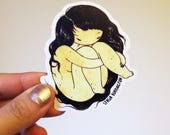 Self-Hug vinyl sticker