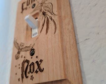 Spellbound Harry Potter Themed Light switch Plate