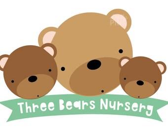 Premade Preschool Nursery Logo Design
