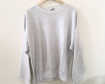 90's Heather Grey Pullover
