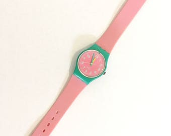 1988 Swatch PINK CHAMPAGNE (LL105)