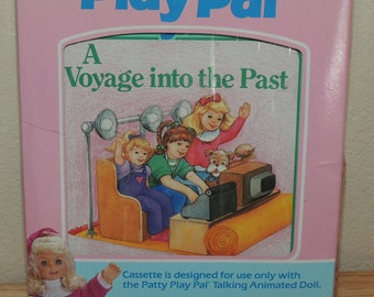 PATTY Play Pal  A Voyage into the Past Book and Cassette