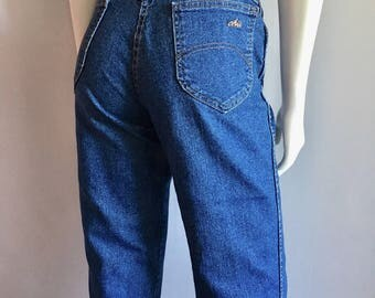 Vintage Women's 80's Chic Jeans, High Waisted, Denim (M)