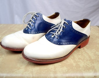 Vintage Cole Haan Oxford Saddle Shoes  -  5 1/2 B