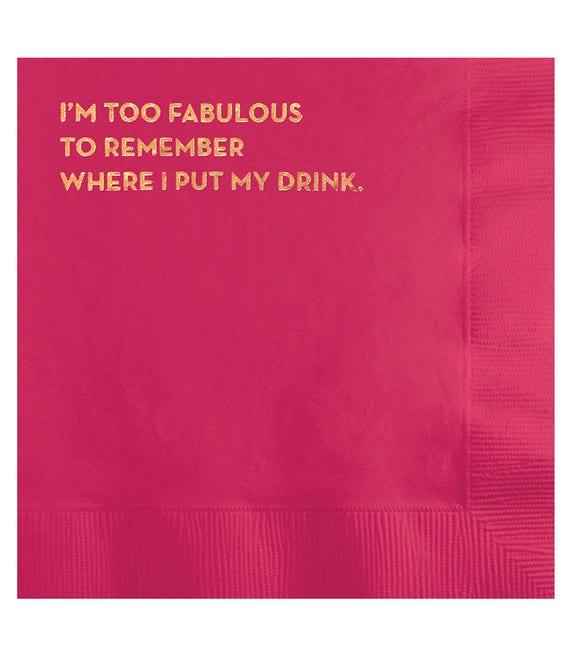 fabulous napkins. #582