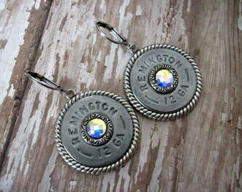 Shotgun Shell Earrings - Bullet Earrings - Dangle Earrings G7
